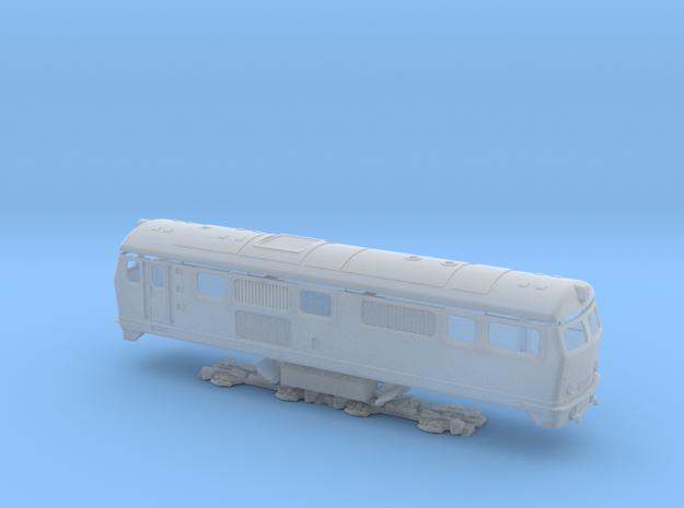 BDŽ 75 in Smooth Fine Detail Plastic: 1:87 - HO