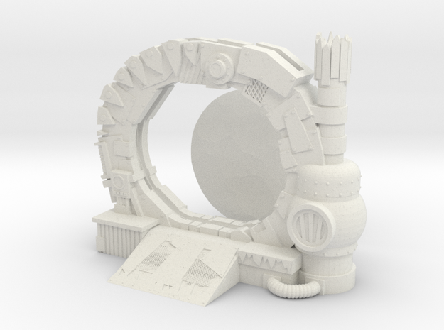 Space Orks Portal Terrain  in White Natural Versatile Plastic