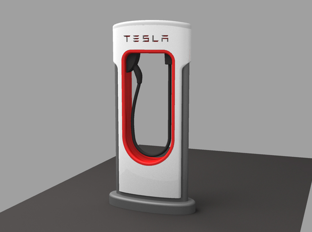 TESLA FAST CHARGER Scale 1/32