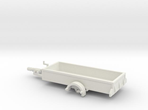 1057 Anhänger HO 1400 X 3450 in White Natural Versatile Plastic