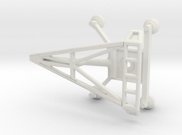 O Scale Pantograph in White Natural Versatile Plastic