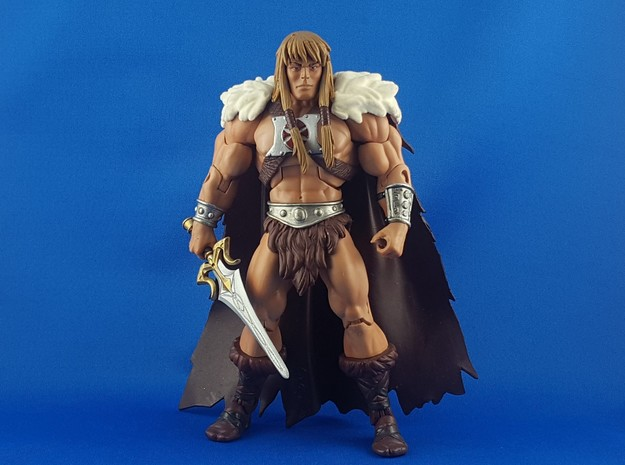 Sideshow He-man Powersword in Smooth Fine Detail Plastic