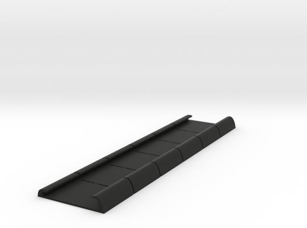 Schuine Unilux Plisse hordeur geleider houders set in Black Natural Versatile Plastic
