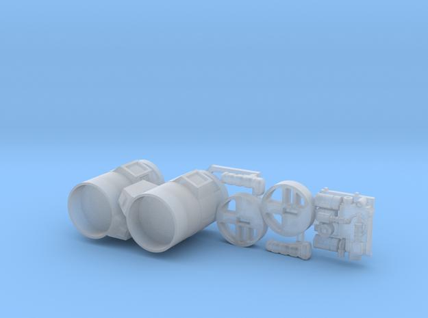 Moebius EVA Pod - Remote Controllers in Smooth Fine Detail Plastic