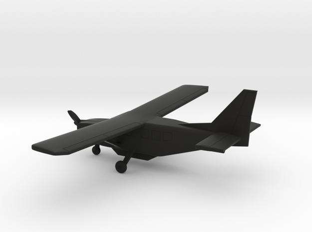 GippsAero GA8 Airvan in Black Natural Versatile Plastic: 1:160 - N