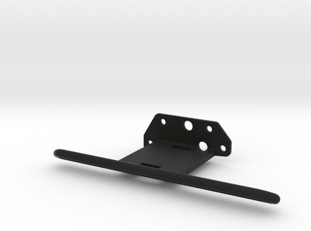 TZK003L Toyzuki Hexagon Series Rockslider left in Black Natural Versatile Plastic