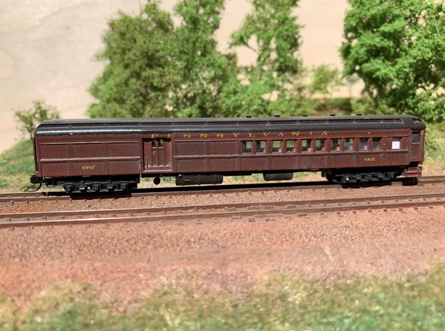 N-scale (1/160) PRR PB70 Combine in Smooth Fine Detail Plastic