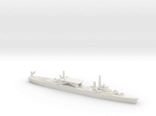 Japanese Chitose-class Seaplane Tender in White Natural Versatile Plastic