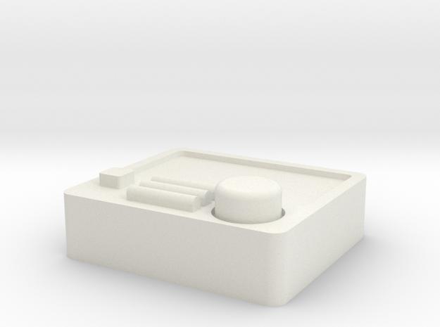 guage_gps in White Natural Versatile Plastic