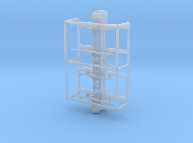 1:100 TYPE 13 RADAR for IJN vessels in Smooth Fine Detail Plastic: 1:100