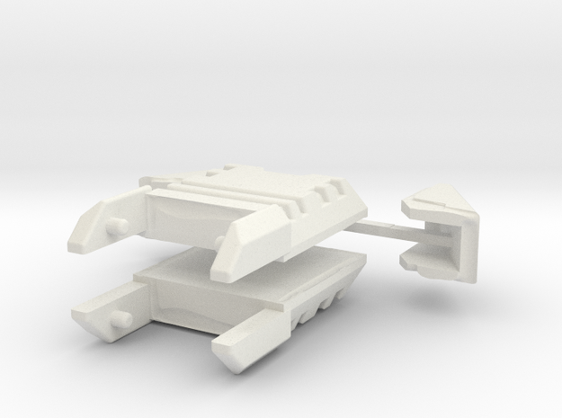WST Fort Max canopies in White Natural Versatile Plastic