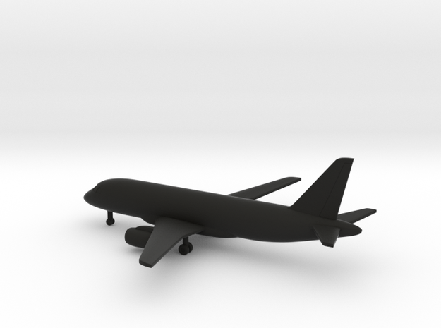 Sukhoi Superjet 100 (Su-95) in Black Natural Versatile Plastic: 1:400