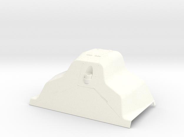 SUKHOI SU27 (CARF MODELS) COCKPIT (C) in White Processed Versatile Plastic