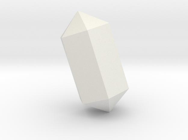 Apatite_005 in White Natural Versatile Plastic