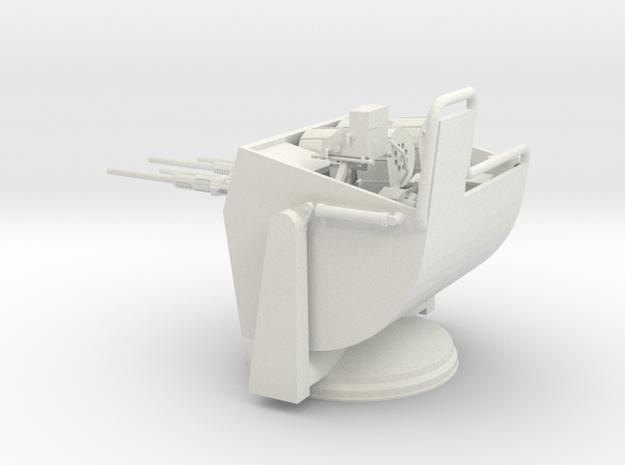 1/24 Elco - PT Turret C-IV (THUNDERBOLT) in White Natural Versatile Plastic