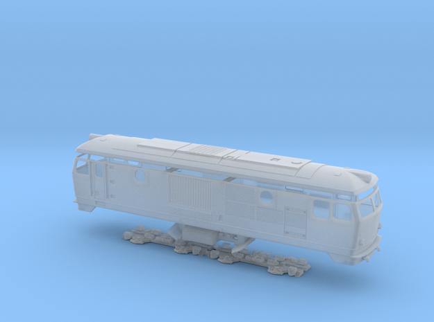 BDŽ 77 in Smooth Fine Detail Plastic: 1:87 - HO