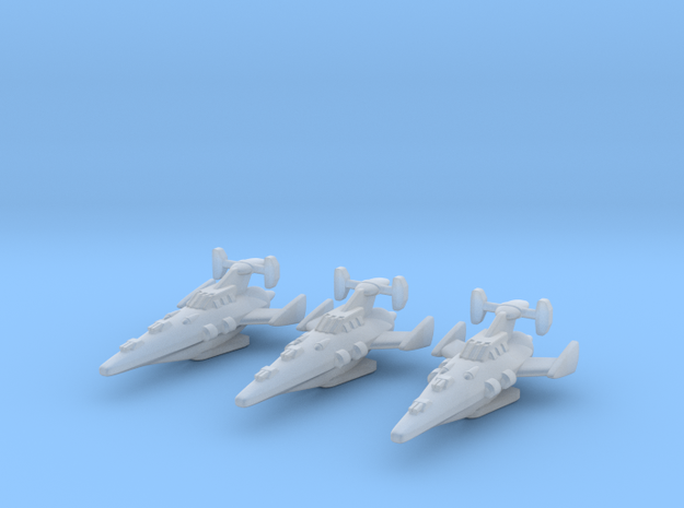 Novus Regency Corvette Squadron in Smooth Fine Detail Plastic