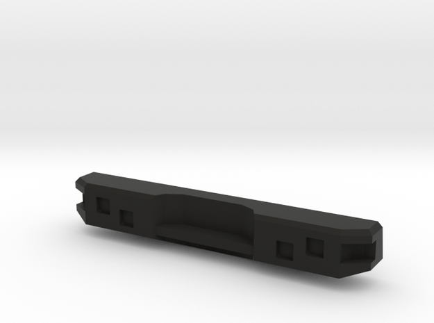 1/10 Ford Excursion Offroad Bumper rear in Black Natural Versatile Plastic