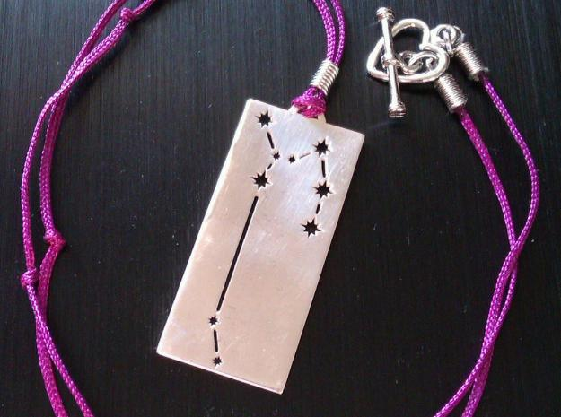 Sagittarius star sign pendant 3d printed Customers photo, extra material not included