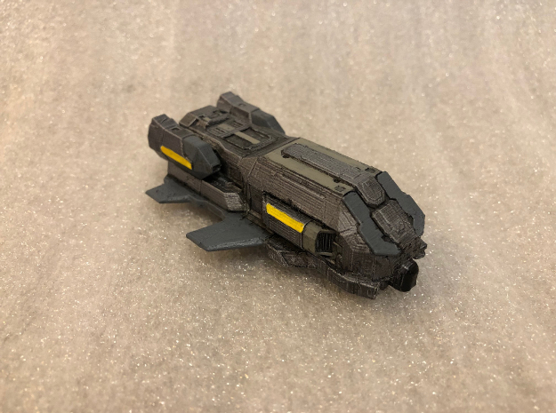 Type-7 Transporter: Elite Dangerous in White Natural Versatile Plastic