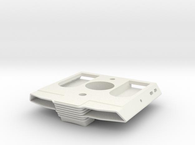 TORPEDO BAY REV C in White Natural Versatile Plastic