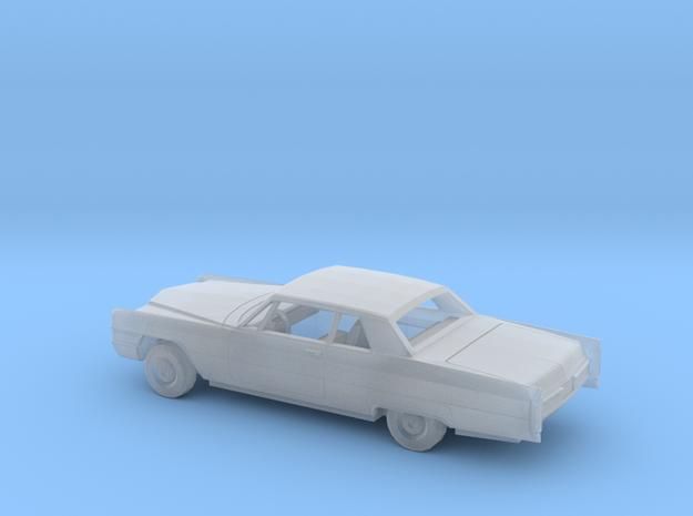 1/160 1965 Cadillac Deville Coupe Kit in Smooth Fine Detail Plastic