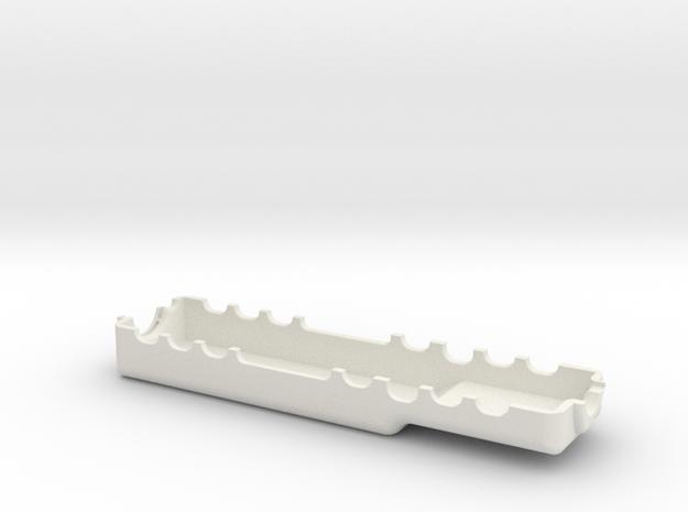 LSW reproduction handgaurd, left. in White Natural Versatile Plastic