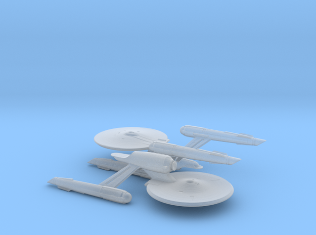 USS Enterprise (Discovery) 1/14000 in Smooth Fine Detail Plastic