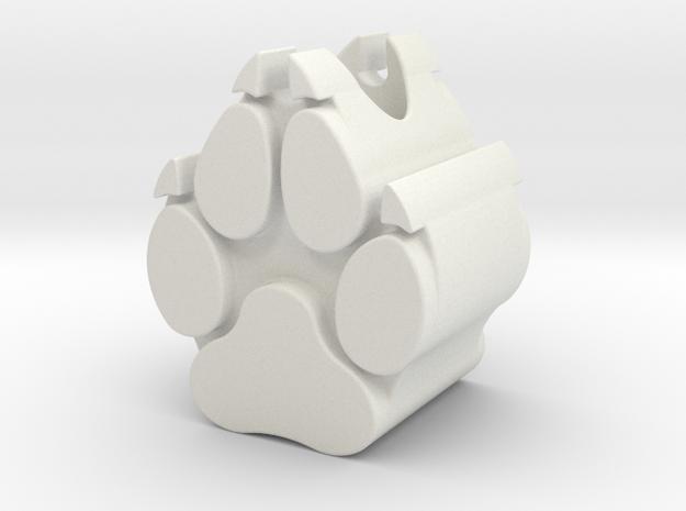 PAWPER BEAD Wolf Pack EDC in White Natural Versatile Plastic