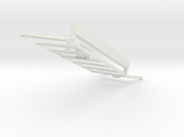 05-Ladder in White Natural Versatile Plastic