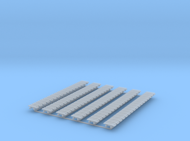 Kette 2 steg 13 mm Breite, Turasinnenbreite 5 mm in Smooth Fine Detail Plastic