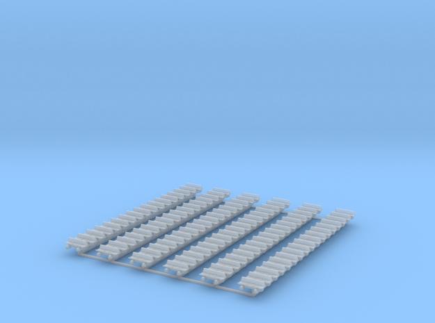 Kette 1 steg 610 mm Breite, Turasinnenbreite 6 mm  in Smooth Fine Detail Plastic