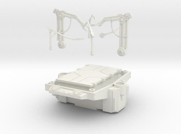 AnphelionBase_Table in White Natural Versatile Plastic