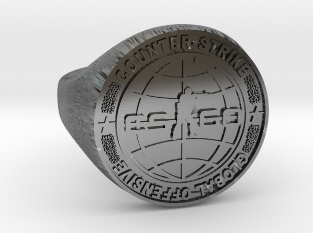 CS:GO Ring in Antique Silver: 5 / 49
