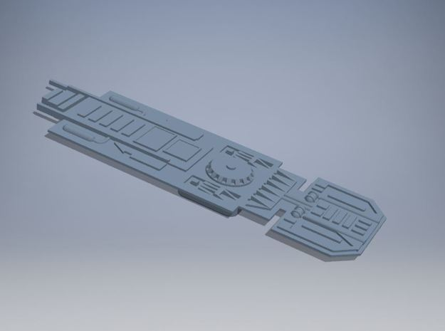 CHURCHILL, TRENCH DETAIL, STBD in Smoothest Fine Detail Plastic