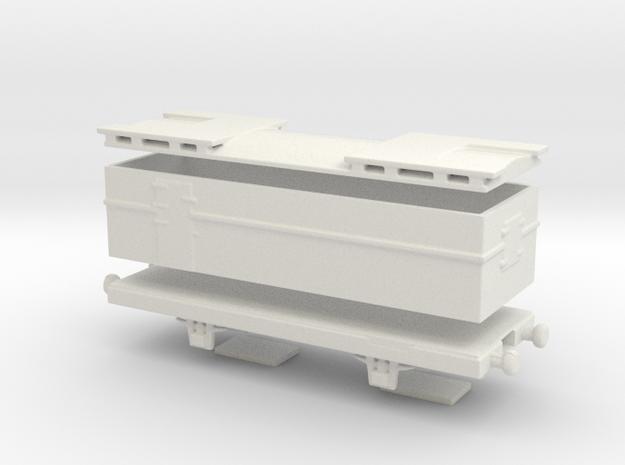 alvf armored wagon 1/76  in White Natural Versatile Plastic