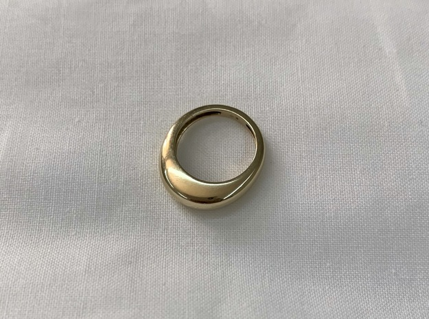 Norm I in 14K Yellow Gold: 4 / 46.5