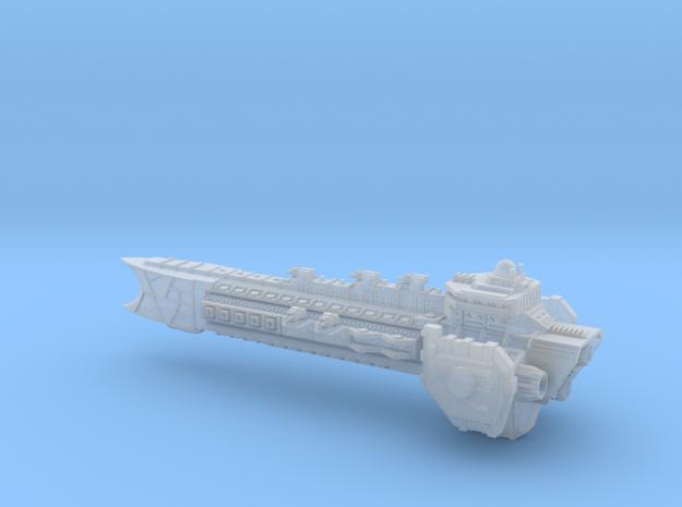Ascendancy Battleship in Smooth Fine Detail Plastic