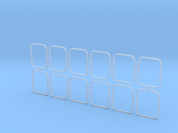 2810 ASD Outside Window Frames 1/50 in Smooth Fine Detail Plastic