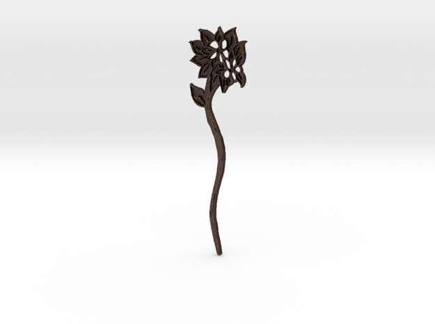 Everspring Hairstick in Matte Bronze Steel