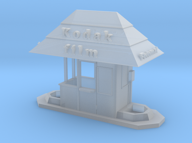 HO scale Fotomat kiosk in Smooth Fine Detail Plastic