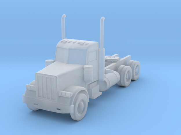 Peterbilt 379 Daycab - 1:144 scale in Smooth Fine Detail Plastic