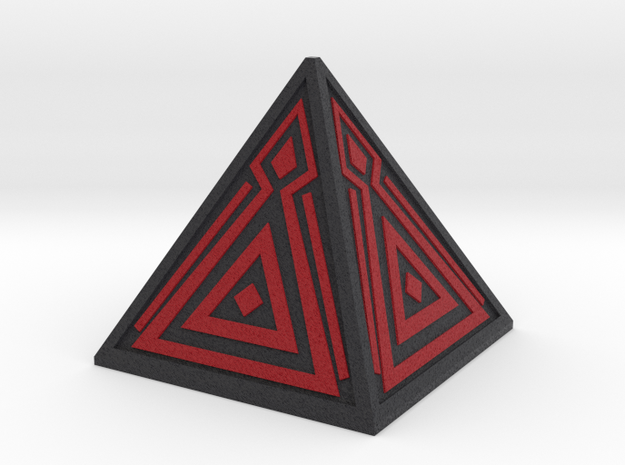 Sith Holocron 2 (full color) in Full Color Sandstone