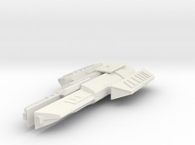 3788 Scale Ymatrian Rapier Destroyer Leader MGL in White Natural Versatile Plastic