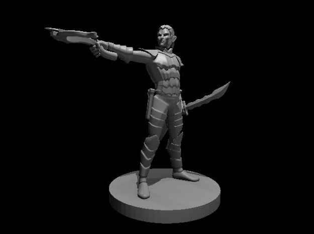 Drow in Smooth Fine Detail Plastic