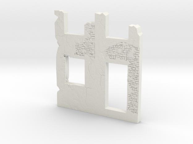 Building wall ruins 1/43