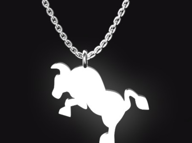 TAURUS for 4/20~5/20 birth.  in Polished Bronzed Silver Steel