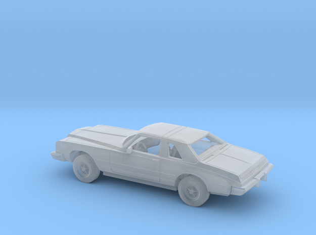 1/87 1977 Buick Riviera Kit in Smooth Fine Detail Plastic