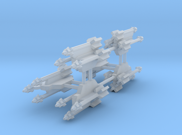 AA-11 Archer 3-Rack in Smooth Fine Detail Plastic