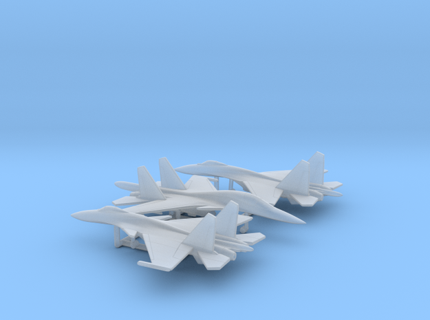 1/400 Russian Fighters pack 2 in Smooth Fine Detail Plastic
